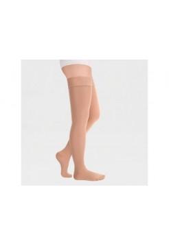 Чулки медицинские компрессионные с резинкой на силиконовой основе, с закрытым носком (1 класс) NORMAL Luomma