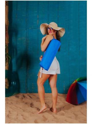 Пляжный коврик,цвет синий
