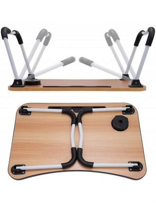 TV-804 Складной стол для ноутбука,цвет светло-бежевый