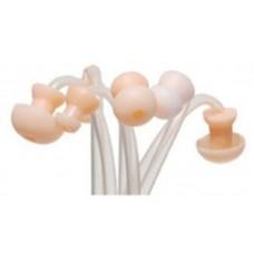 Набор  стандартных ушных вкладышей для слуховых аппаратов размер № 4,в количестве 5 шт