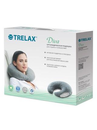 Подушка-рогалик Trelax Diva П08 для путешествий