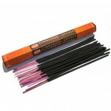 """Благовония """"HEM Cinnamon-Orange"""" (Корица-апельсин), четырехгранник, 8 палочек"""