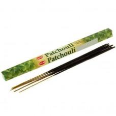 """Благовония """"HEM Patchouli"""" (Пачули), четырехгранник, 8 палочек"""