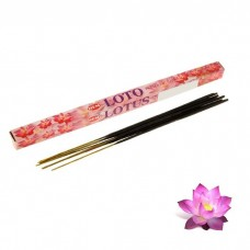 """Благовония """"HEM Lotus"""" (Лотос), четырехгранник, 8 палочек"""