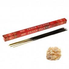 """Благовония """"HEM Frankincense"""" (Ладан), четырехгранник, 8 палочек"""