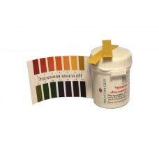 """Универсальная индикаторная бумага """"Роттингер"""" pH от 1 до 14 (80 тест полосок)"""