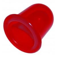 Массажная банка «ЧУДО-БАНКА» (комплект 2 шт.), цвет - красный