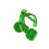 """Массажер """"Лидер"""" (2 колеса), цвет зеленый"""