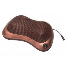 Массажная подушка «ШЕЯ, ПЛЕЧИ, СПИНА», коричневая