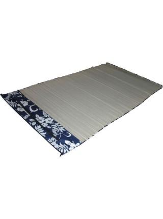 Пляжный коврик соломенный  60х180см, в чехле на молнии с ремнем