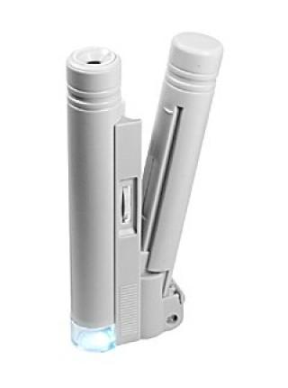 Микроскоп 100х карманный с подсветкой Kromatech MG10085