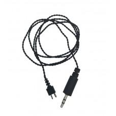 Кабель-провод для слухового аппарата Ария с одним контактом