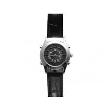 Часы с речевым выходом и шрифтом Брайля HV-VTS (Черный циферблат)
