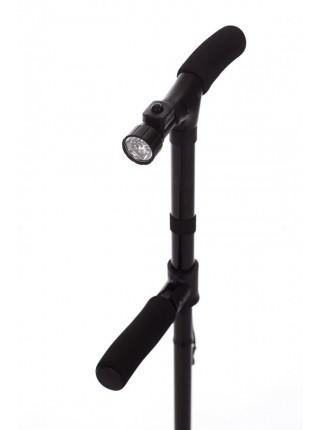Трость опорная складная с фонариком «ОПОРА-КОМФОРТ»