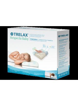 Подушка ортопедическая с эффектом памяти 'RESPECTA BABY' П35 для детей от 3-х лет