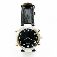 Часы женские наручные говорящие, модель HV-AF (чёрный цвет)