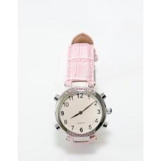 Часы женские наручные говорящие, модель HV-AF (розовый цвет)