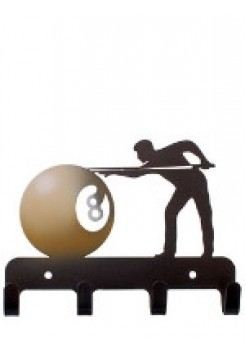 Крючок Бильярд, сталь, 20х30 см