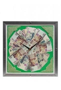 Настенные часы Рубли, 42 х 42 см