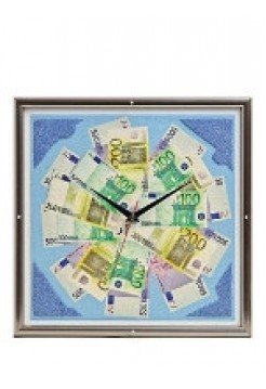 Настенные часы Евро, 42 х 42 см