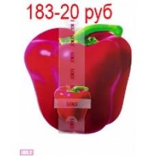 Р300-402 Набор салфеток Красный Перец для сервировки стола