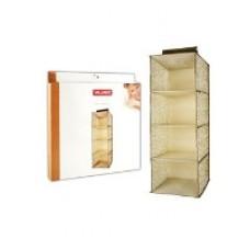 VAL AC301 Кофр подвесной для хранения, 4 секции, 30 х 30 х 84 см