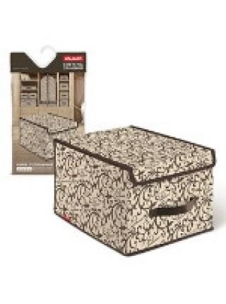 VAL CL-BOX-LS Короб стеллажный, с крышкой, малый 28 х 30 х 16 см