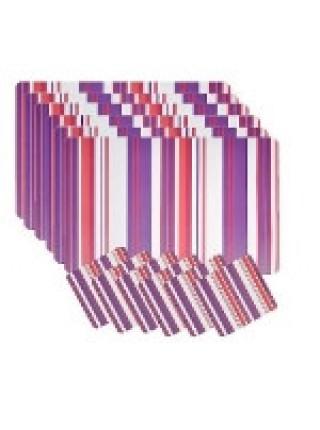 Набор термосалфеток для сервировки стола 'Loks', цвет: фиолетовый, 12 штук. P300-201