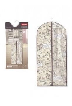 Чехол для одежды c прозрачной вставкой, большой, 60х137, VALIANT RM-CW-137