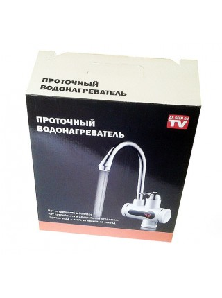 """Кран - водонагреватель проточный с индикатором температуры  """"Посейдон"""""""