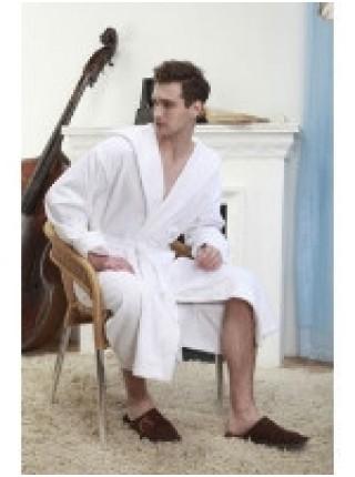 Классический банный халат Arctic White