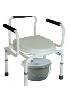 Кресло-туалет с опускающимися подлокотниками CA-667