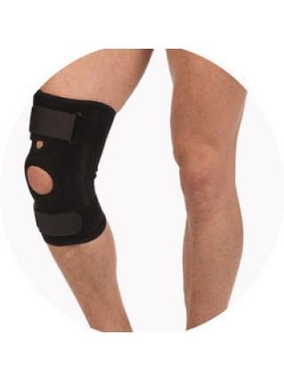 Бандаж на колено с ребрами жесткости Тривес Т-8512 (Т.44.12)