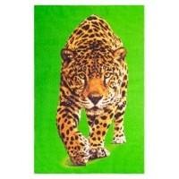 Пляжное полотенце вафельное 'Тигр'