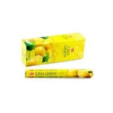Благовония 'Лайм и Лимон', HEM, 20 палочек