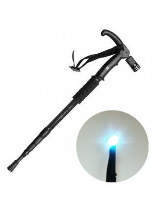Трость телескопическая с подсветкой 'ОПОРА'