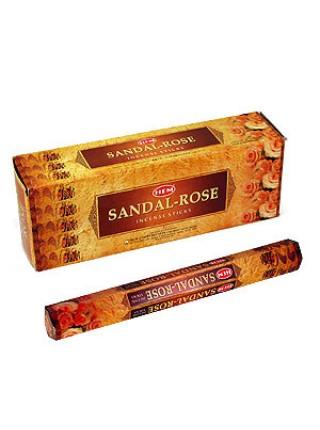 Благовония 'Сандал и роза', Индия, HEM, 20 палочек