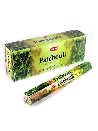 Благовония 'Пачули', Индия, HEM, 20 палочек