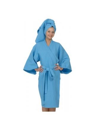 Халат и полотенце 0,60м х 0,80м модель унисекс