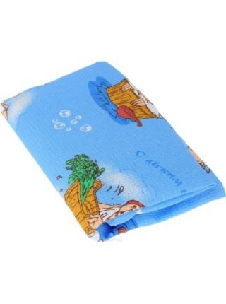 """Килт для бани и сауны """"Невский банщик"""", мужской, цвет: голубой, длина 60 см. БН88"""