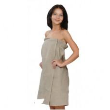 Парео - юбка женская льняная, размер  XXL ЛХ85