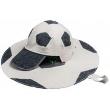 Набор из 2-х предметов (шапка Футбольный мяч, коврик Футбольный мяч)
