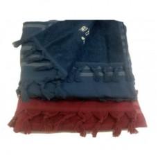 Универсальное махровое полотенце - простынь - накидка PESHTEMAL Violetta 100х200 см.(EMD)
