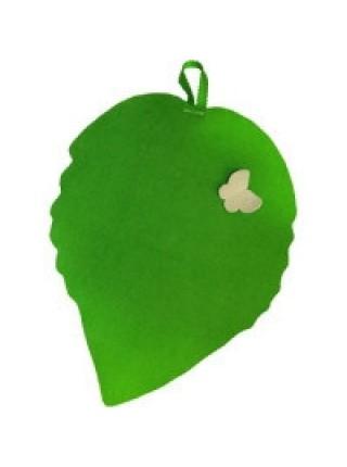 Коврик для сауны 'Зеленый лист'
