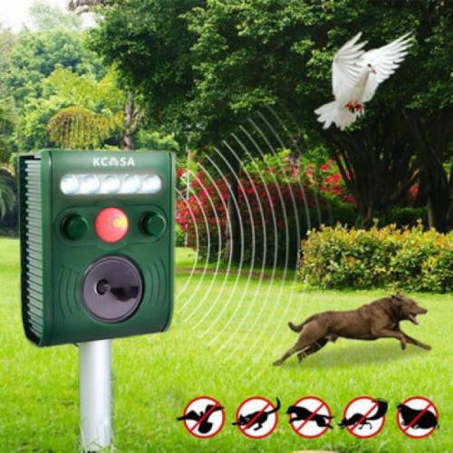 Отпугиватели птиц: биоакустические, пропановые и ультразвуковые