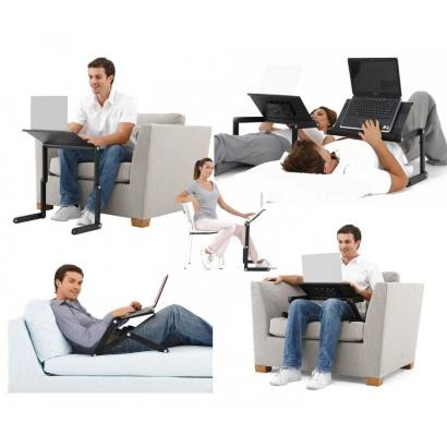 Удобство использования столика для ноутбука